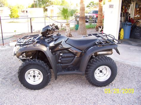 honda rubacon 500 black 2009 rubicon honda foreman forums rubicon rincon