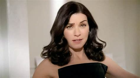 julianna margulies large head l oreal excellence creme black richesse tv commercial feat