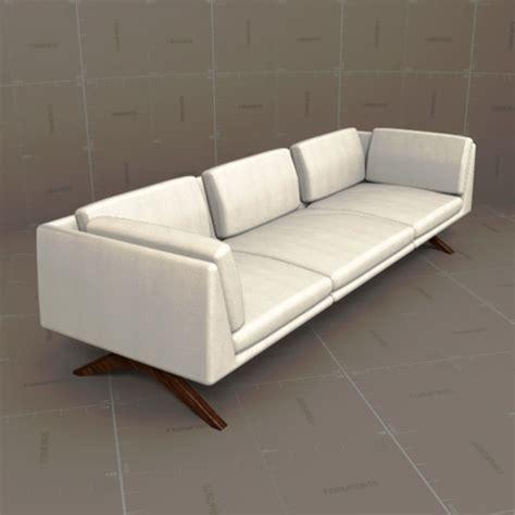DeLaEspada Hepburn Sofa 3D Model   FormFonts 3D Models