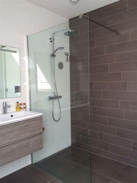 wc tegels aanbieding badkamer tegels mosa beige en brown tegelstroken 15x60 cm