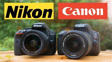 nikon vs canon canon sl2 200d vs nikon d3400 which is the best cheap