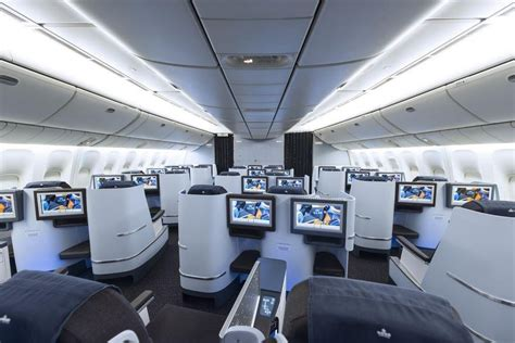 voli interni america new cabin interior for klm s boeing 777 200 fleet