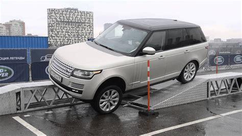 range rover drivers test drive new range rover