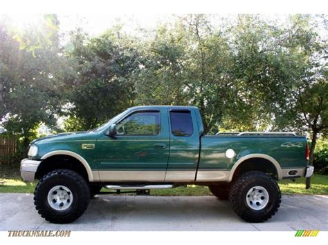 2000 Ford F150 For Sale by 2000 Ford F150 Lariat Extended Cab 4x4 In Green