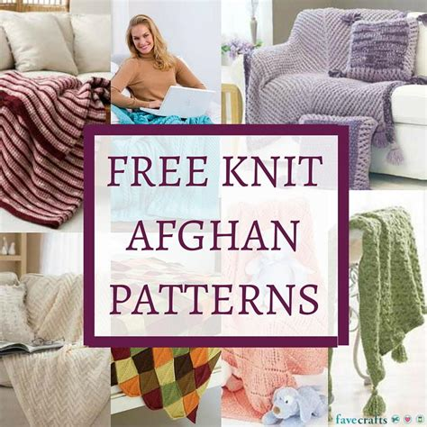 www free 33 free knit afghan patterns favecrafts com