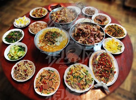 new year dishes images 土家族的年夜饭 民俗湖北 视界网