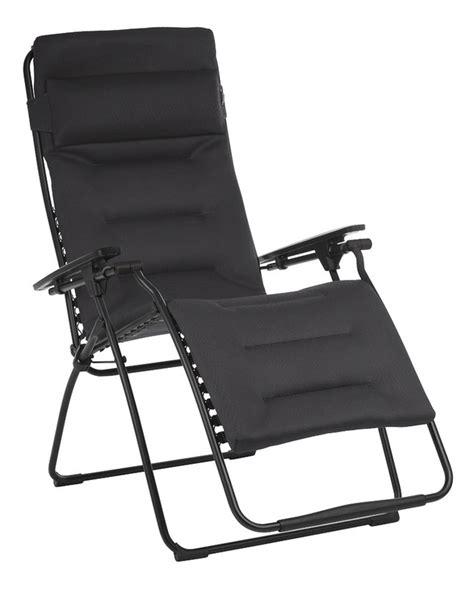 chaises longues lafuma lafuma chaise longue futura xl air comfort acier dreamland