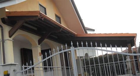tettoie coibentate costruzione tettoie e porticati in legno rivarolo canavese