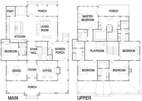 four square floor plan four square house plans craftsman foursquare house plans