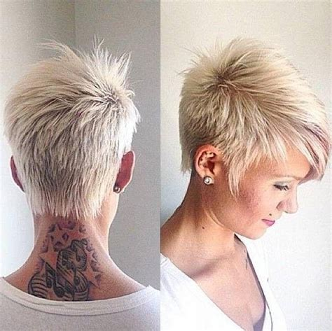 faux hawk over 40 15 best of short funky hairstyles for over 40