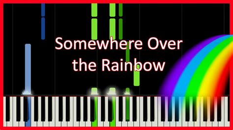 tutorial piano over the rainbow how to play somewhere over the rainbow piano tutorial