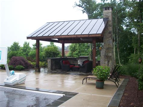 Backyard Pavillion by Landscape Landscape Design Patios