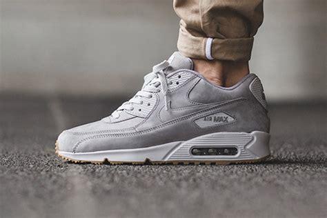 Nike Airmax 90 Suede nike air max 90 winter grey suede sneaker hypebeast
