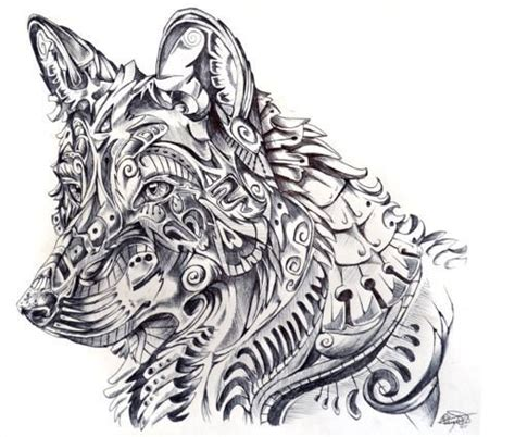 pattern drawing wolf pinterest the world s catalog of ideas