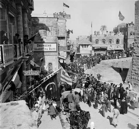 Ottoman Rule by These Photos Were Taken Between 1898 And 1914 When