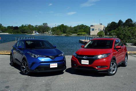 2018 Toyota C Hr Vs 2017 Honda Hr V Comparison Toyota