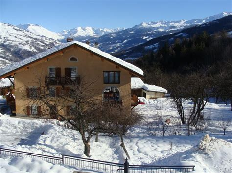 bed and breakfast in plagne montalbert paradiski la