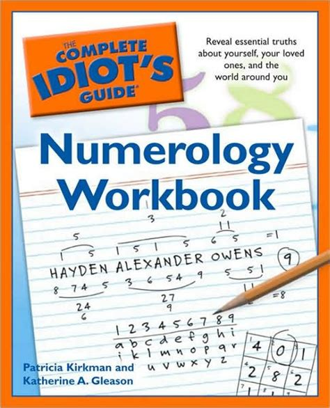libro the numerology of the the complete idiot s guide numerology workbook by katherine gleason patricia kirkman nook