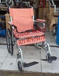 Jual Kursi Roda Lipat Jakarta kursi roda 863laj alumunium bisa lipat toko medis jual