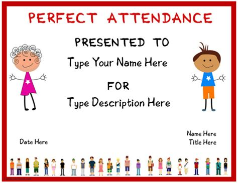 certificate of attendance template word microsoft word