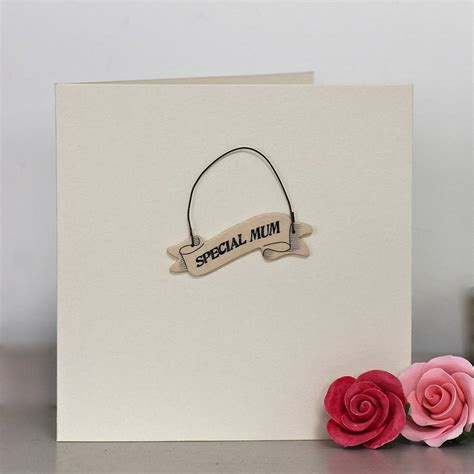 Special Handmade Cards - special handmade card by chapel cards