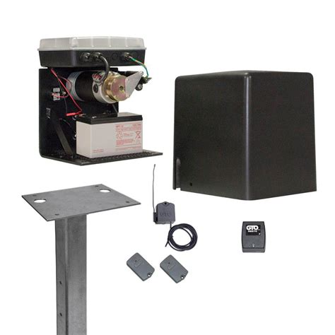 mighty mule gate opener mighty mule contractor series standard compact slide automatic gate opener professional package