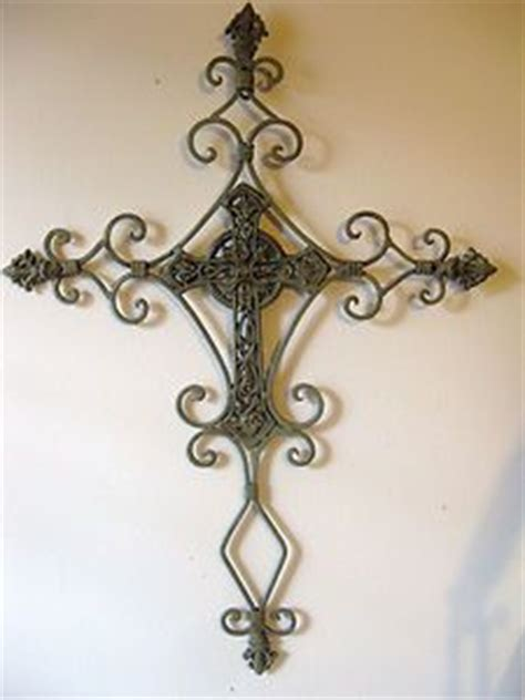 iron crosses decor wrought iron metal cross shabby