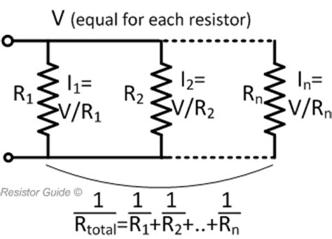 calculate resistor parallel resistors in parallel 187 resistor guide