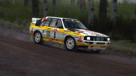 Rally Audi Quattro by Hb Audi 1984 Livery For Audi Sport Quattro Rallye