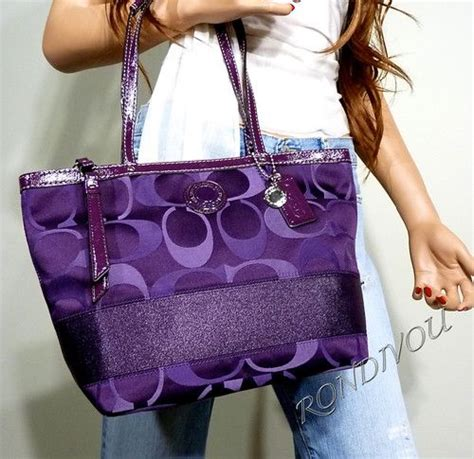Coach Tote 1689 1689 best images about all things purple on
