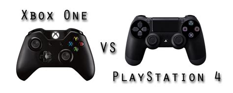 xbox one vs playstation 4 controllers neoseeker