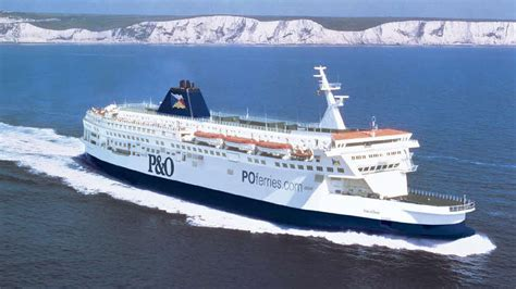ferry boat in french p o ferries the caravan club
