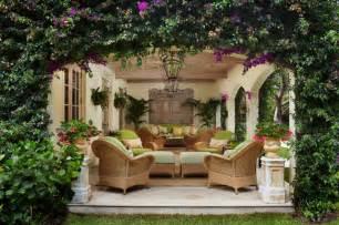 Tropical Patio Design Palm Loggia Tropical Patio Miami By Brantley Photography