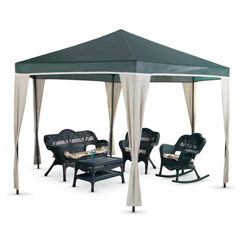 coolaroo gazebo coolaroo 174 13x11 gazebo 118473 patio furniture at