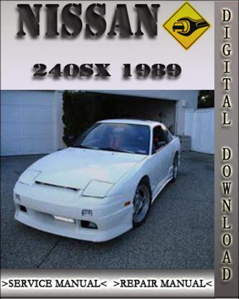 motor auto repair manual 1995 nissan 240sx regenerative braking 1989 nissan 240sx owners manual