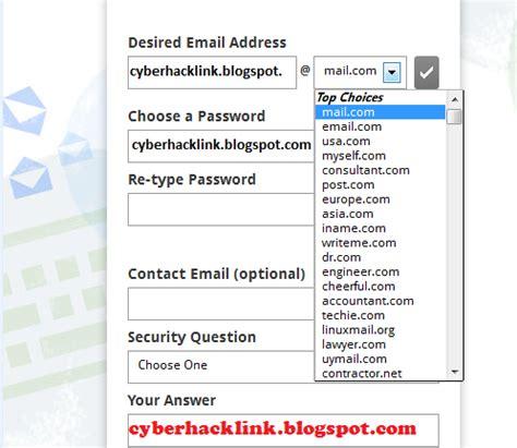 membuat email nama cara membuat email menggunakan nama domain keren dan
