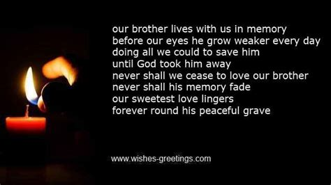 words of comfort for loss of brother death of brother poems and condolence messages for
