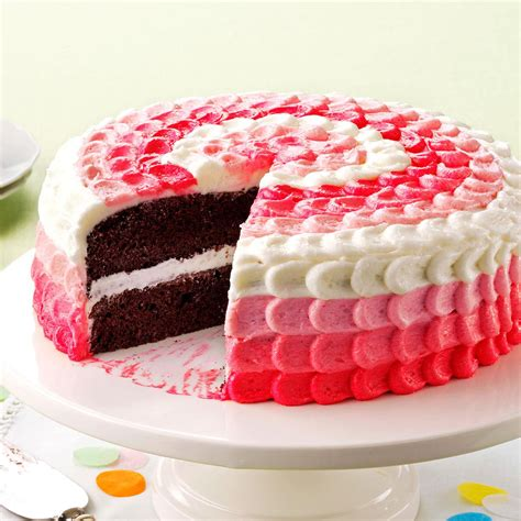 cake with buttercream decorating frosting recipe taste of home