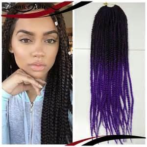 kanekolan hair black white grey aliexpress com buy synthetic ombre kanekalon braiding