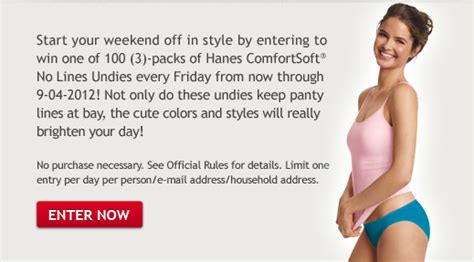 Knickers Giveaway 100 Voucher At Silkstormcom by Free Hanes Womens Undies Giveaway