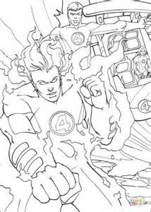 the human torch coloring page free printable coloring pages