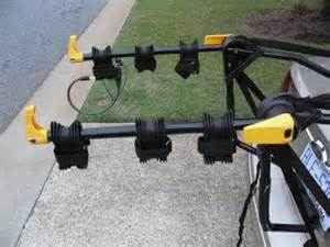 rhode gear 3 bike carrier deluxe bicycle rack nib new in