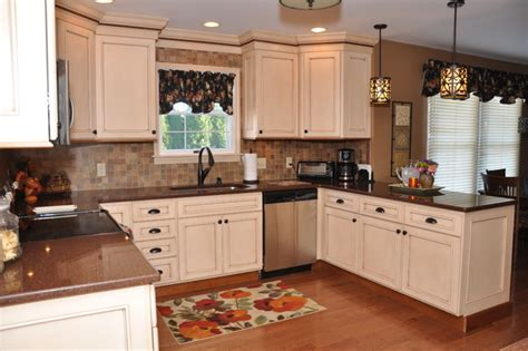 kitchen ideas for medium kitchens semi custom medium sized kitchen traditional other