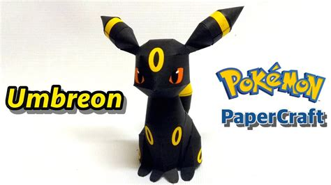 Papercraft Umbreon - umbreon papercraft