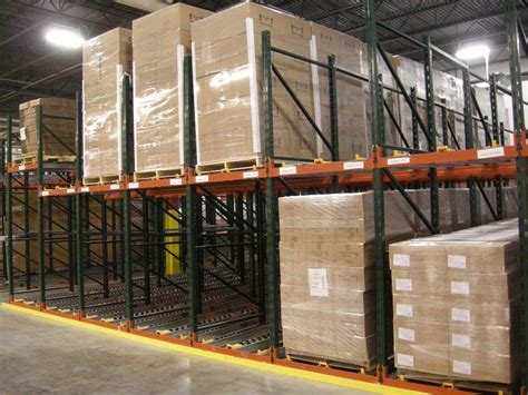 Rak Warehouse pallet flow rack ak material handling systems