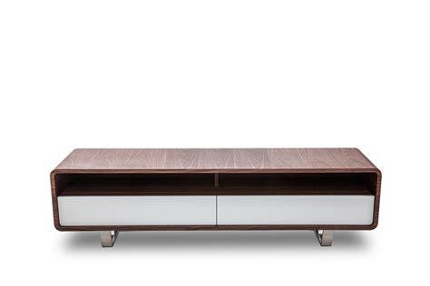Modern Tv Table by Modrest Avis Modern Walnut White Tv Stand