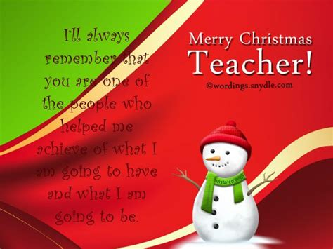 christmas messages  teachers wordings  messages message  teacher christmas