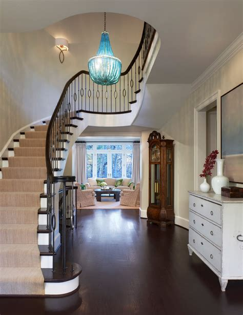 split level entryway light rest of house fixtures fresh modern colonial traditional staircase dc metro