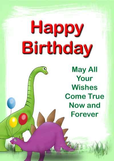 printable birthday cards dinosaur free free birthday cards my free printable birthday cards for