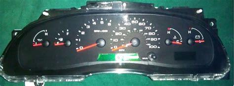 motor repair manual 1984 ford e250 instrument cluster 2004 2008 ford e150 e250 e350 econoline van instrument cluster repair gas diesel